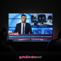 Wanted: PR Manager, guts & brains DDB