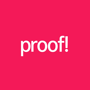 Wanted: copywriter & account director, proof.