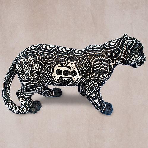 "Huichol Art ""Grand Jaguar"""