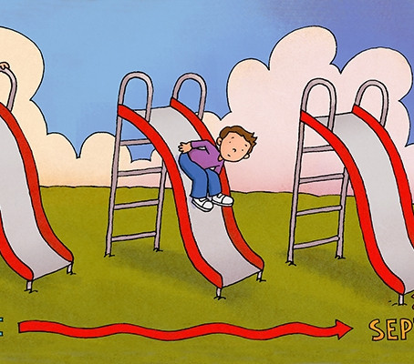 Top 5 Ways to Avoid Summer Slide...And We Don't Mean the Playground.