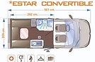 Enaire Evolution 2 Plazas - Salón Convertible