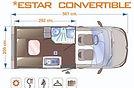 Enaire Evolution 2 Plazas - Salón Convertible