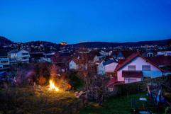 Blick auf Marburg