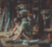 Fabricant en atelier