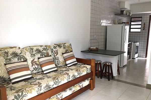 Sala do Flat e cozinha