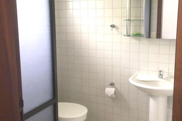 Banheiro Suíte Pousada Seaway