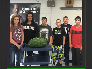 Watermelons in Wyoming County