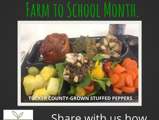 October is Farm to School Month: How will you celebrate?