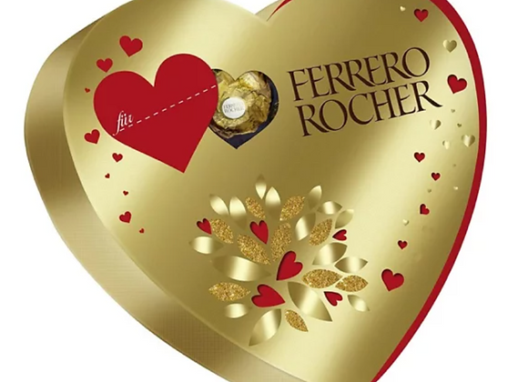 Free Ferrero Rocher Heart Chocolate