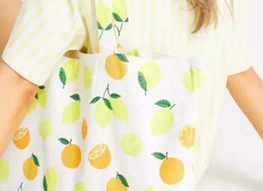 Free Fruit Tote Bag