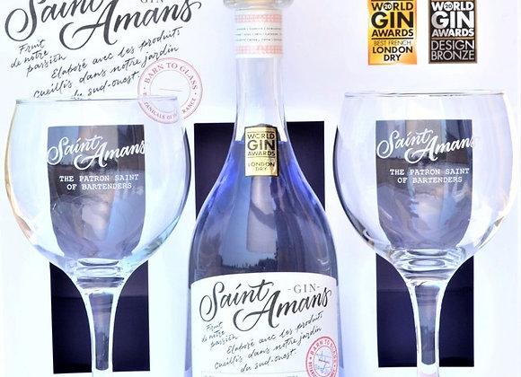Free Saint Amans Gin Set