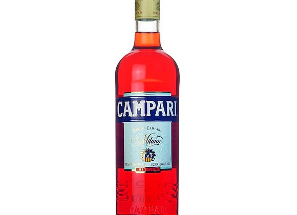 Free Campari Bottle