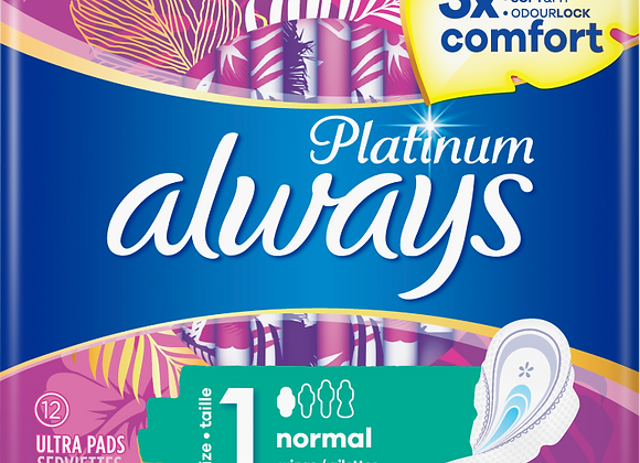 Free Always Platnium Pads