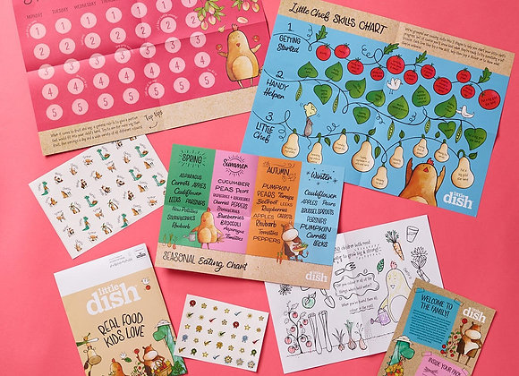 Free Little Dish Activity Pack