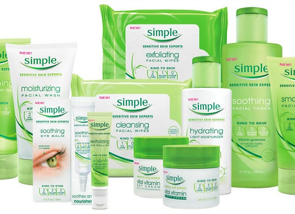 Free Simple Beauty Samples