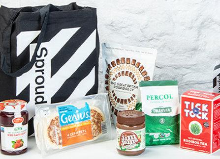 Free Breakfast Goodie Bag