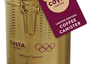 Free COSTA Olympic Game Coffee Canisters