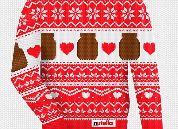 Free Nutella Christmas Jumper