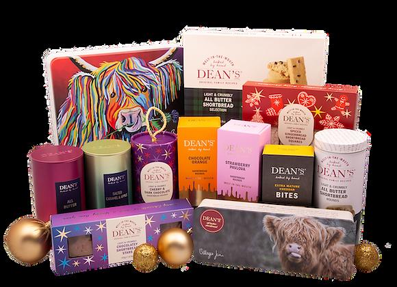 Free Biscuit Luxury Christmas Hamper