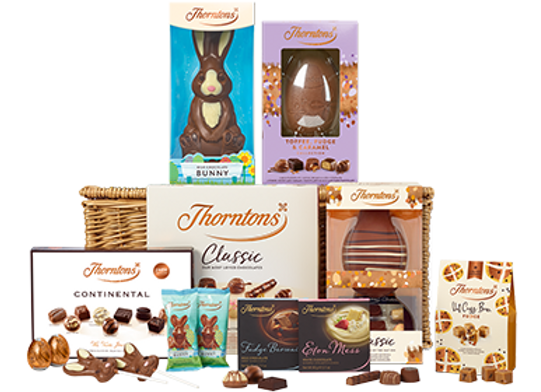 Free Thorntons Easter Hamper