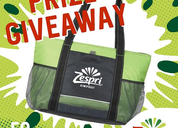 Free Zespri Cool Bag