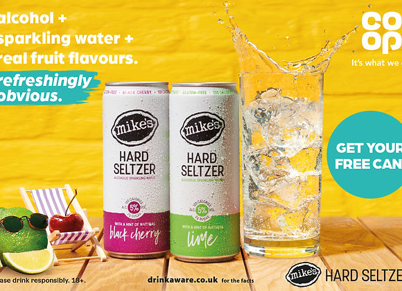 Free Mike's Seltzer Drink