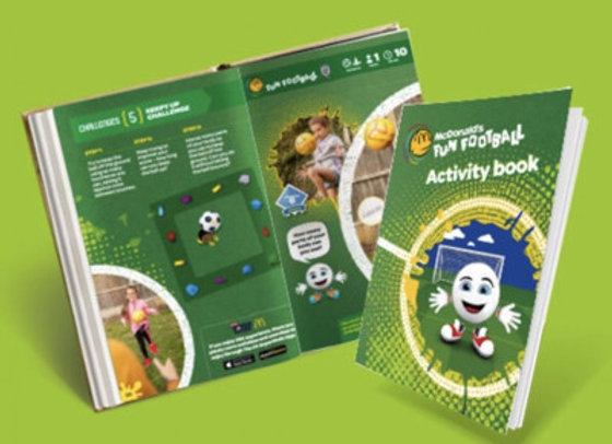 Free McDonald's Activity Book