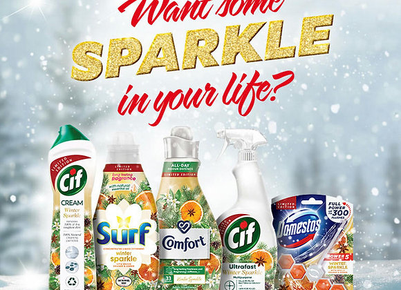 Free Cif Winter Sparkle Bundle