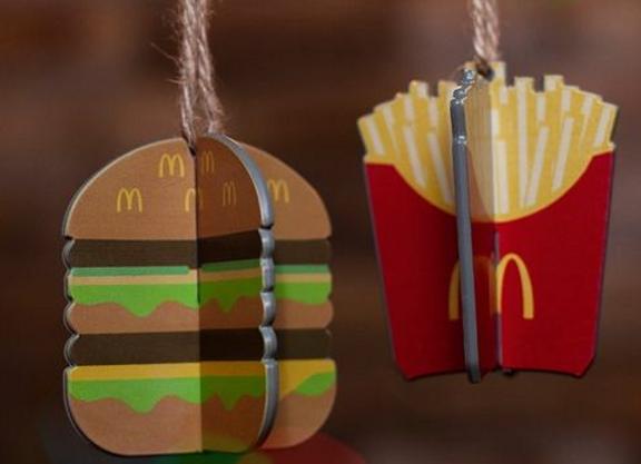 Free McDonald's Christmas Bauble