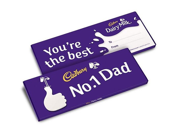 Free Cadbury Dairy Milk No.1 Dad