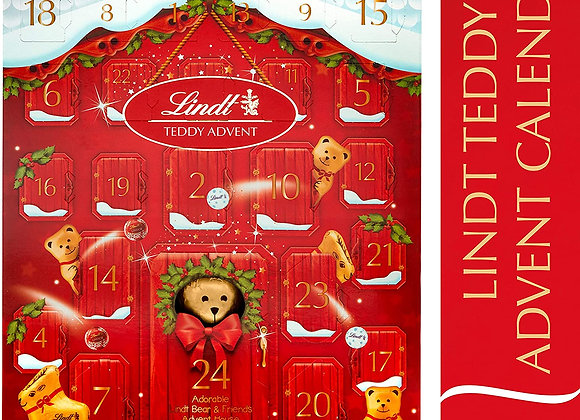 Free Lindt Teddy Advent Calendar