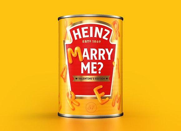 Free Heinz Valentines Can