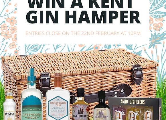Free Kent Gin Co Hamper