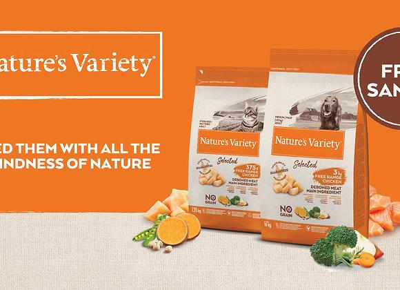 Free Nature's Variety Dry Dog Food