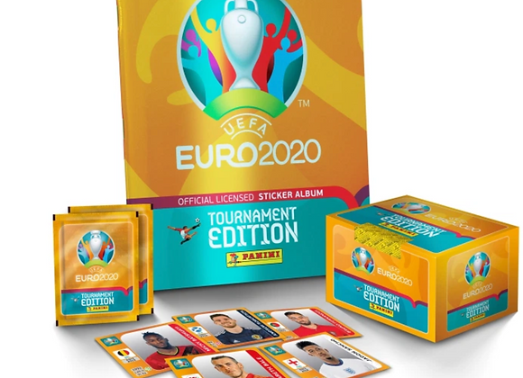 Free EURO 2020™ Sticker Book Collection