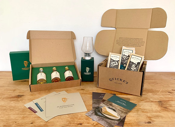 Free Devonian Whiskey & Cheese Set