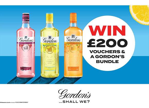 Free Gordon's Gin Bundle