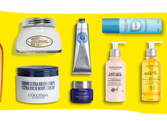 Free L'OCCITANE Beauty Products