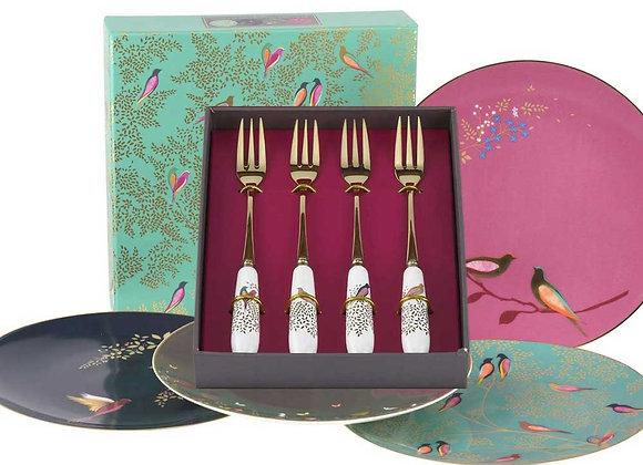 Free Chelsea Fork & Plate Set