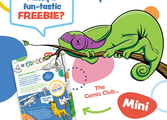 Free Comic Club Activity Book