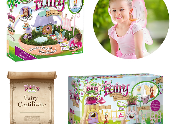 Free Fairy Forest Friends Treehouse Twin Pack