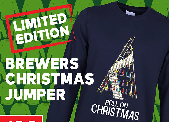 Free Brewers Christmas Jumper