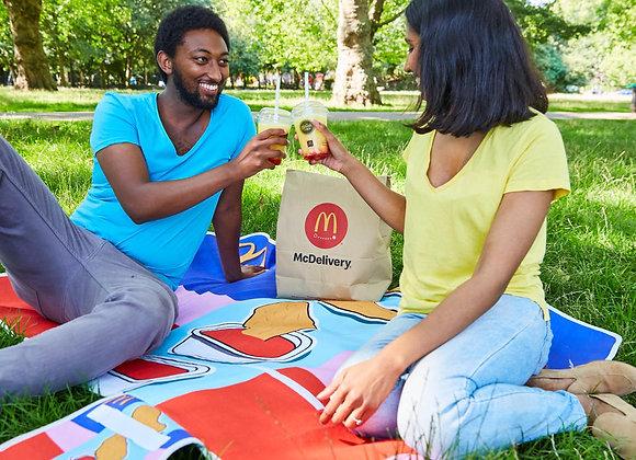 Free McDonald's Blanket