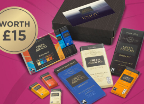 Free Green & Blacks Chocolate Set