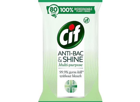 Free Cif Anti-Bac Wipes