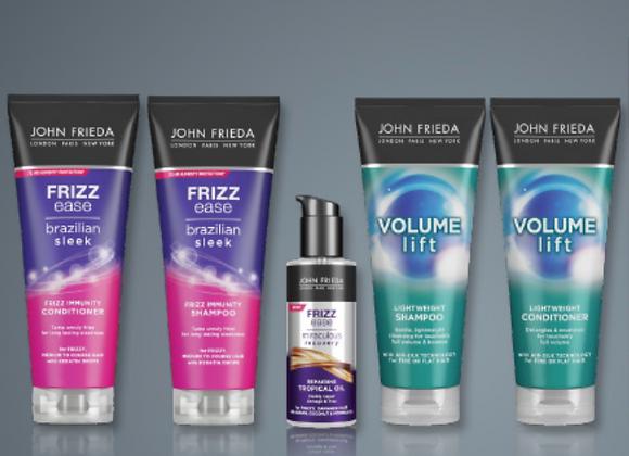 Free John Frieda Shampoo & Conditioner