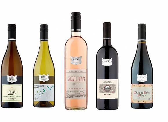 Free Tesco Finest Wine Gift Box