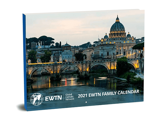 Free EWTN 2021 Family Calendar