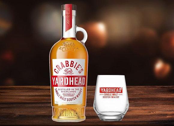 Free Crabbie's Yardhead Glass