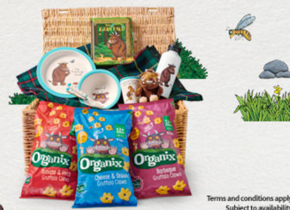 Free Gruffalo Claws Hamper